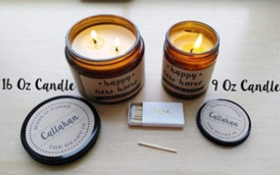 hand-poured soy candle by Define Design 11