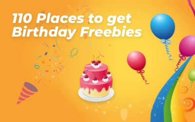 Birthday Freebies!