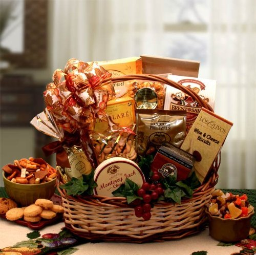 Lovely Gourmet Foods Gift Basket