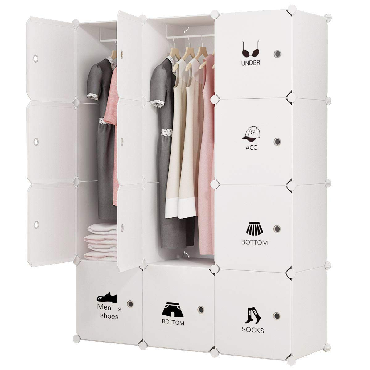 Portable Clothes Closet Wardrobe