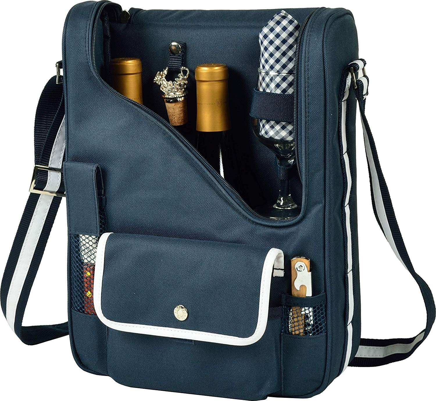 Wine Tote by Picnic at Ascot