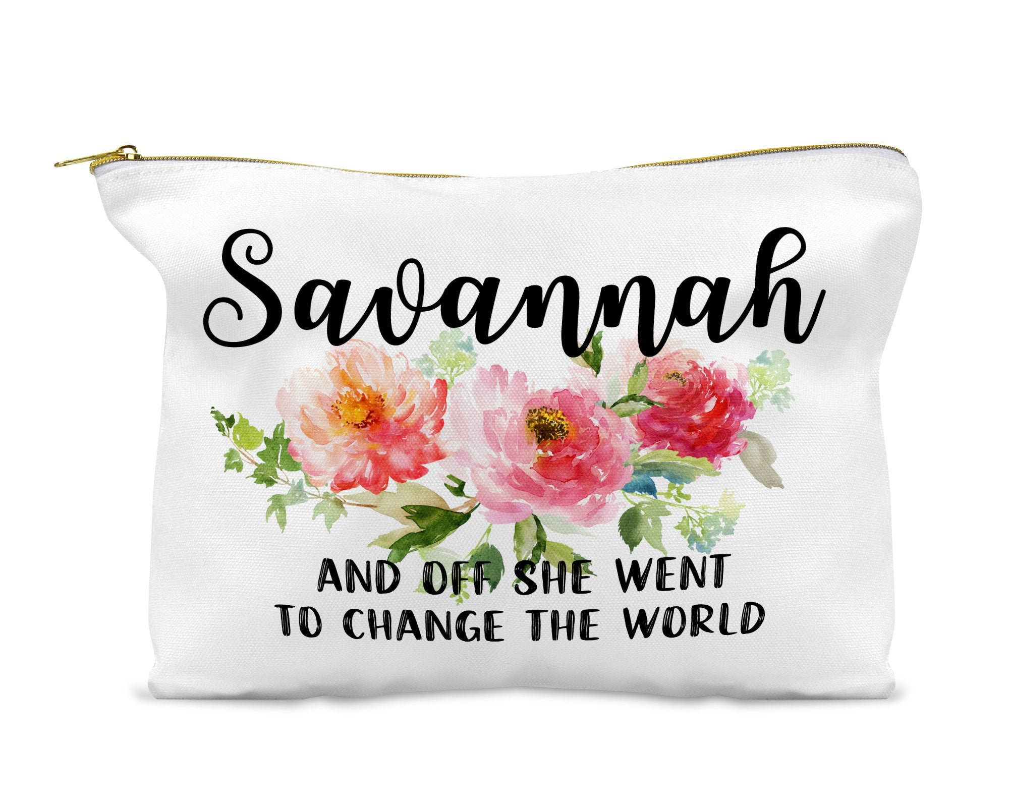 A Personalized Makeup Bag