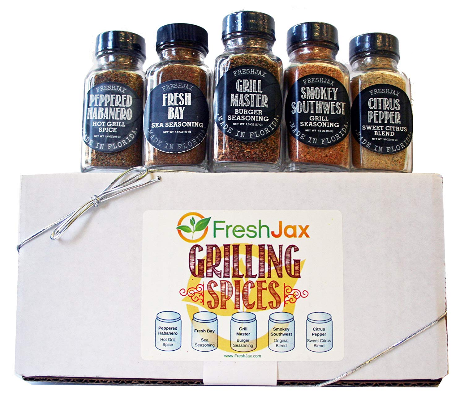Gourmet Spice And Seasoning Gift Box