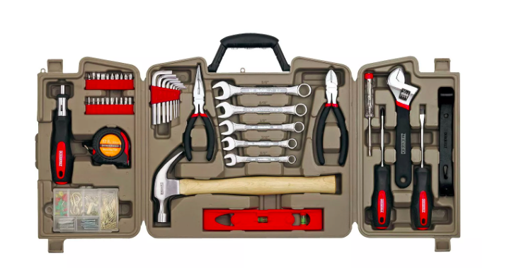 Durabuilt 144 Piece Household Tool Kit