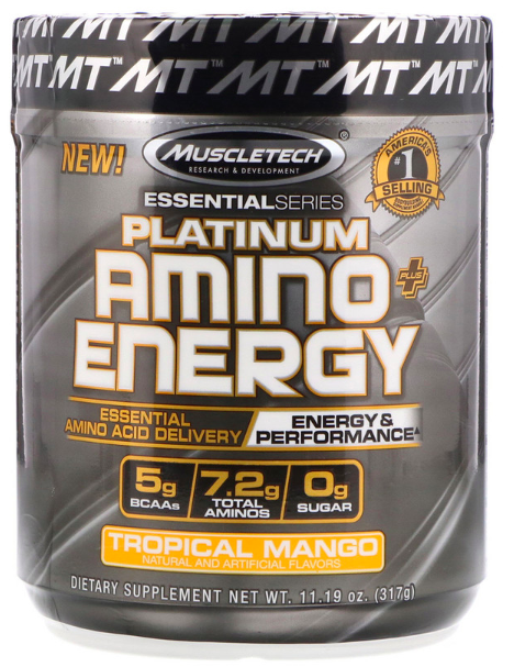 Platinum Amino Plus Energy by Muscletech