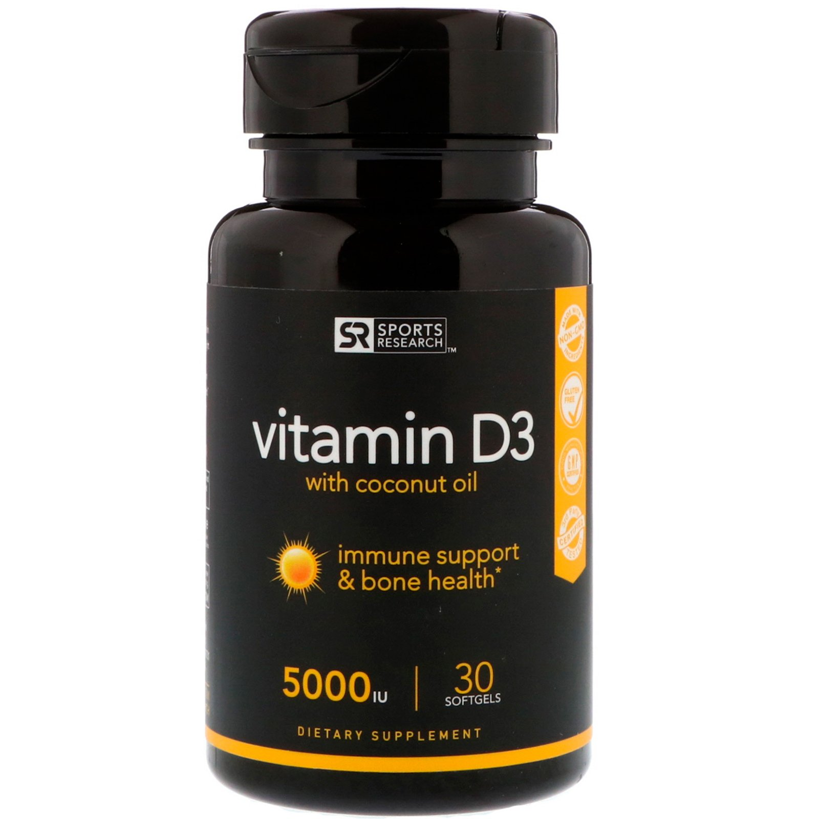 Vitamin D3 with Coconut Oil