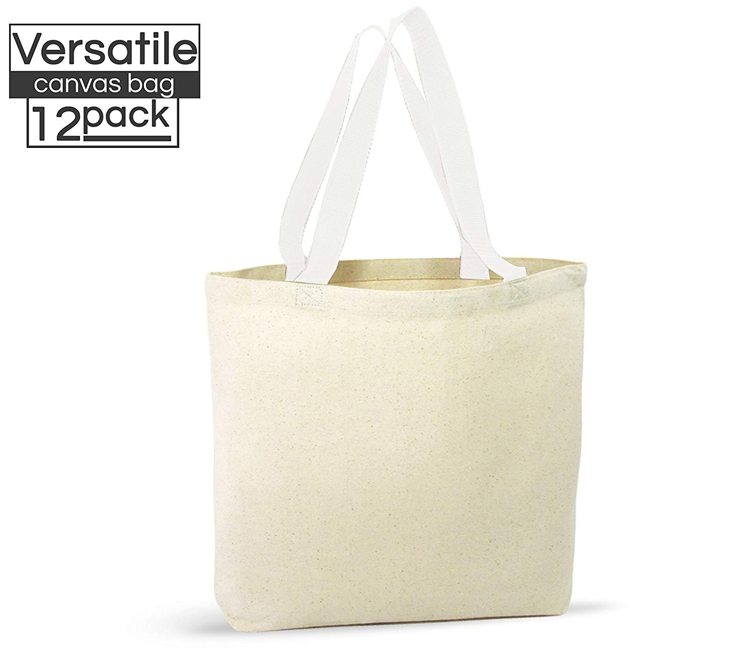 A 12 Pack Canvas Tote Bag