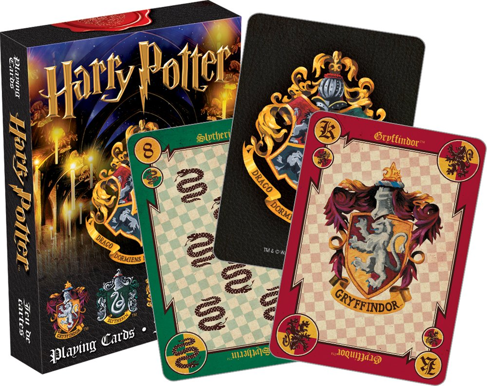 A Deck of Harry Potter Playing CardsA Deck of Harry Potter Playing Cards