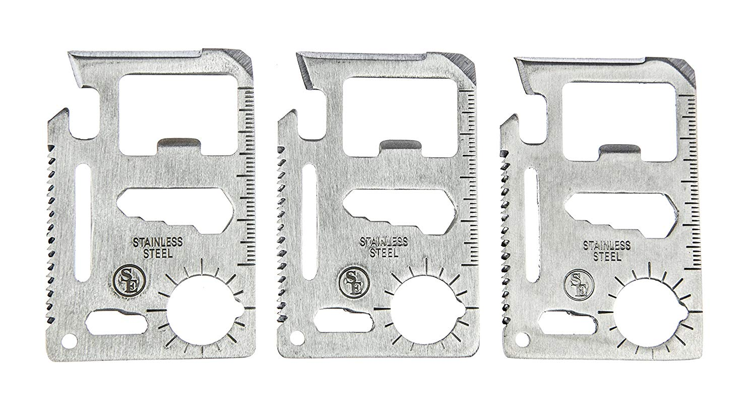 A Five Pack of Multitools Pocket Size Device
