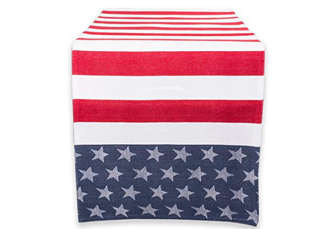 A Star And Stripes Table Runner