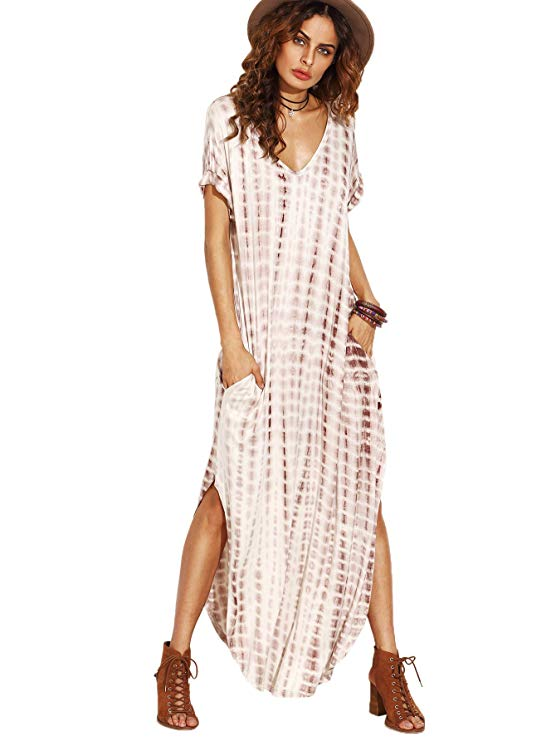 A Soft Tie Dye Long Maxi