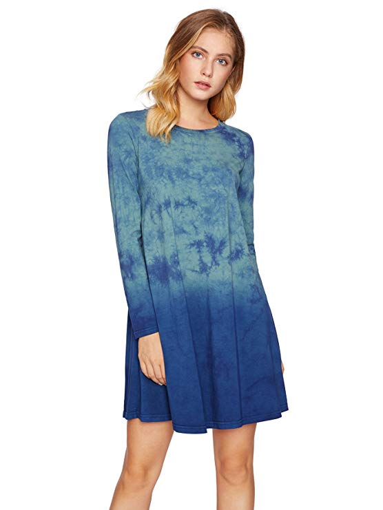 A Tie-Dye T-Shirt Dress