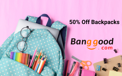 Back To School Backpacks in Banggood