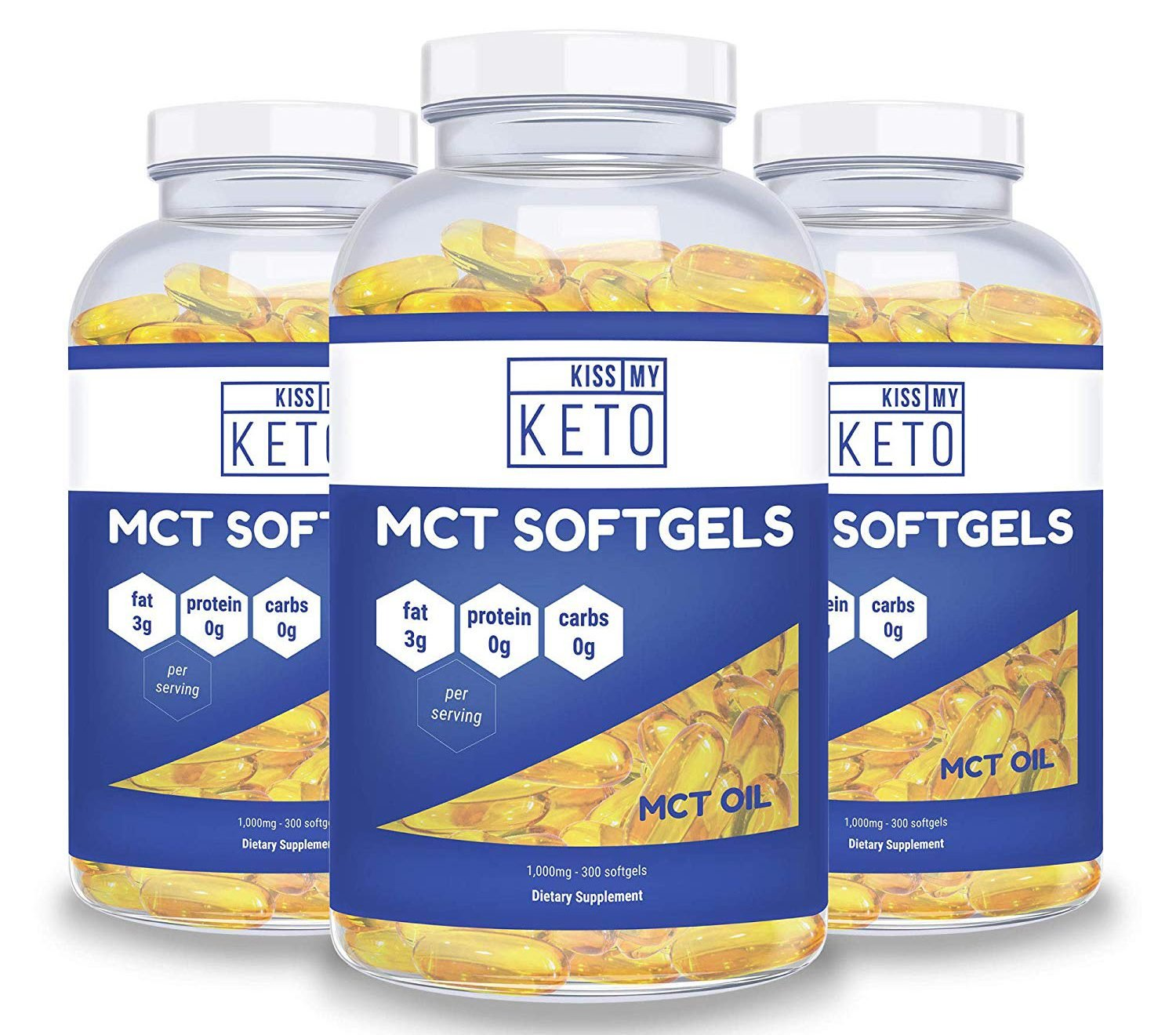Kiss My Keto MCT Oil Capsules