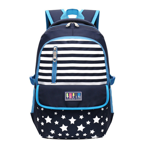 Nylon Backpack Large Capacity Durable School Bag