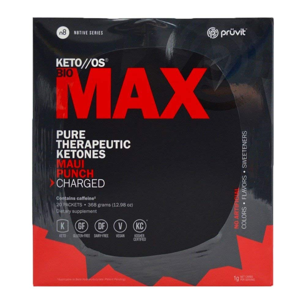 Pruvit Keto OS Max Maui Punch Charged