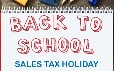 Tax Free Products With Back To School Offers