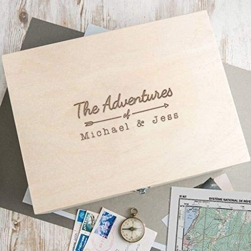 A Personalized Wooden Keepsake Box
