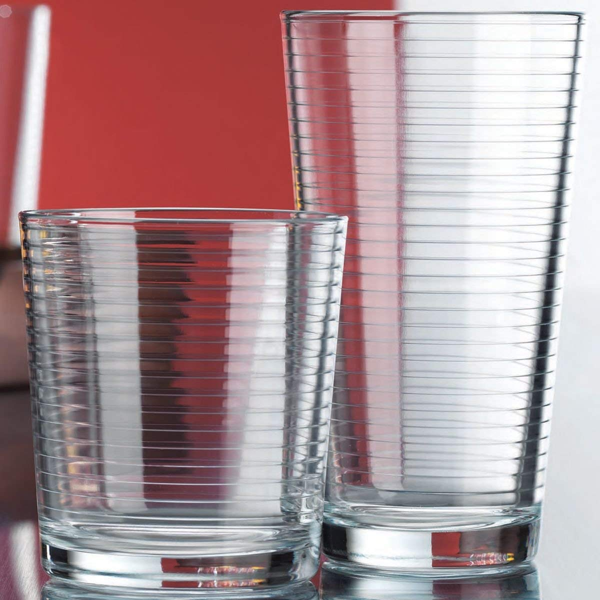 A Set Of Classic Drinking Glasses