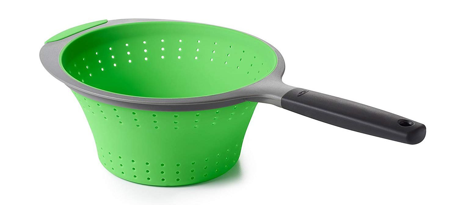 Collapsible Silicone Strainer