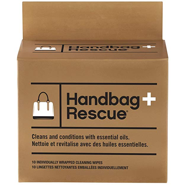 HandBagRescue All Natural Cleaning Wipe for Leather Handbags