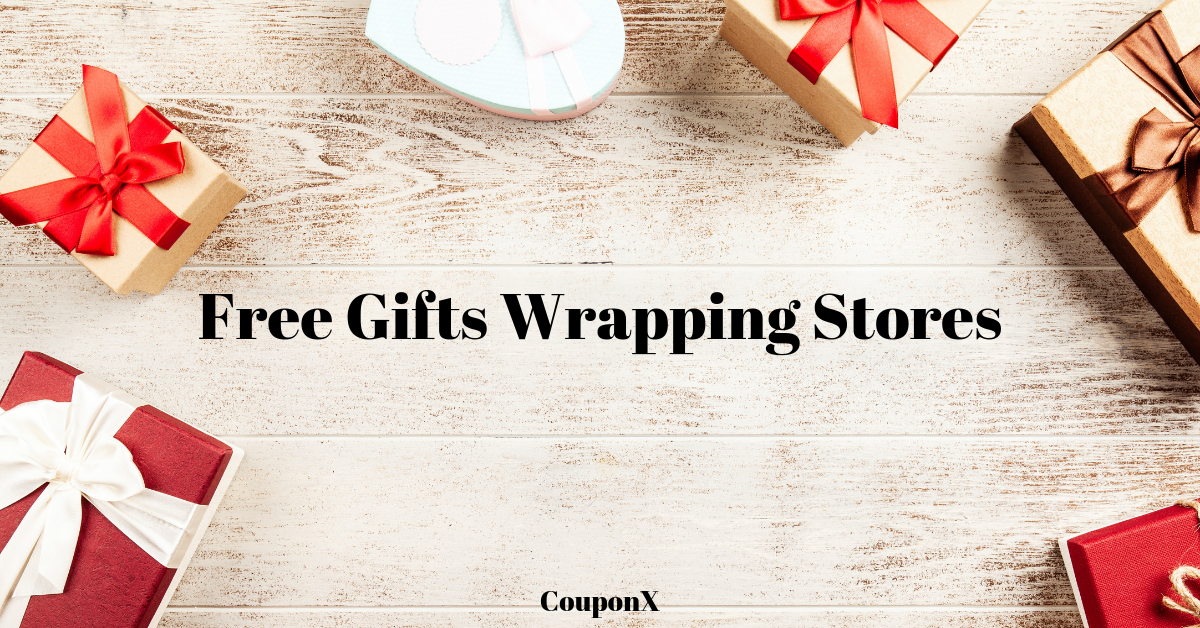 Free Gifts Wrapping Services