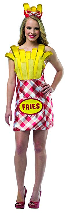 Women's Foodies French Fries Dress