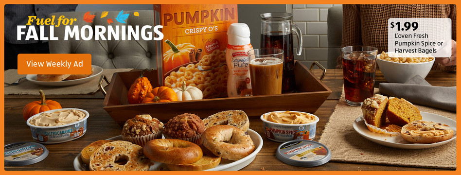 Fuel For Fall Mornings From Aldi