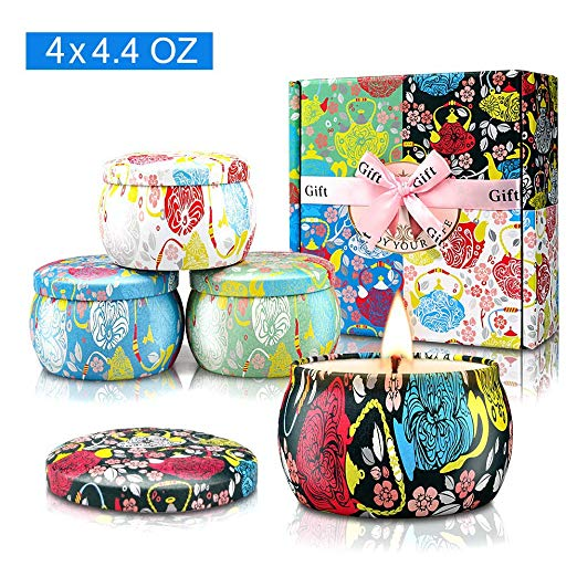 Large Size Scented Candles Gifts Sets for Women