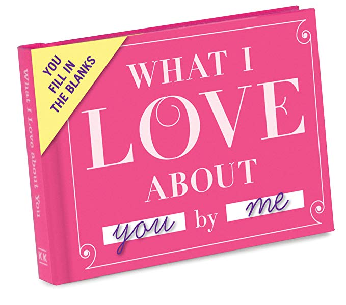 """""""What I Love About"""" Gift Journal"""