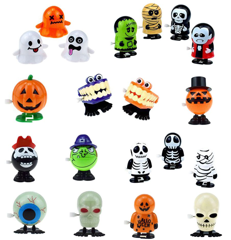 Halloween Wind-up Toys Assorted Clockwork Toys
