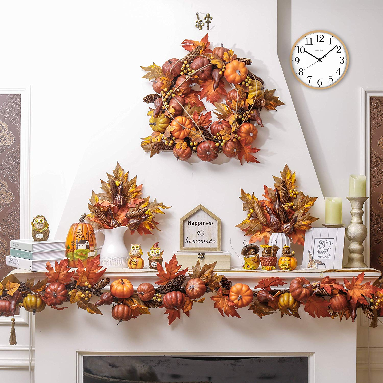 A Fall Heath For Front Door