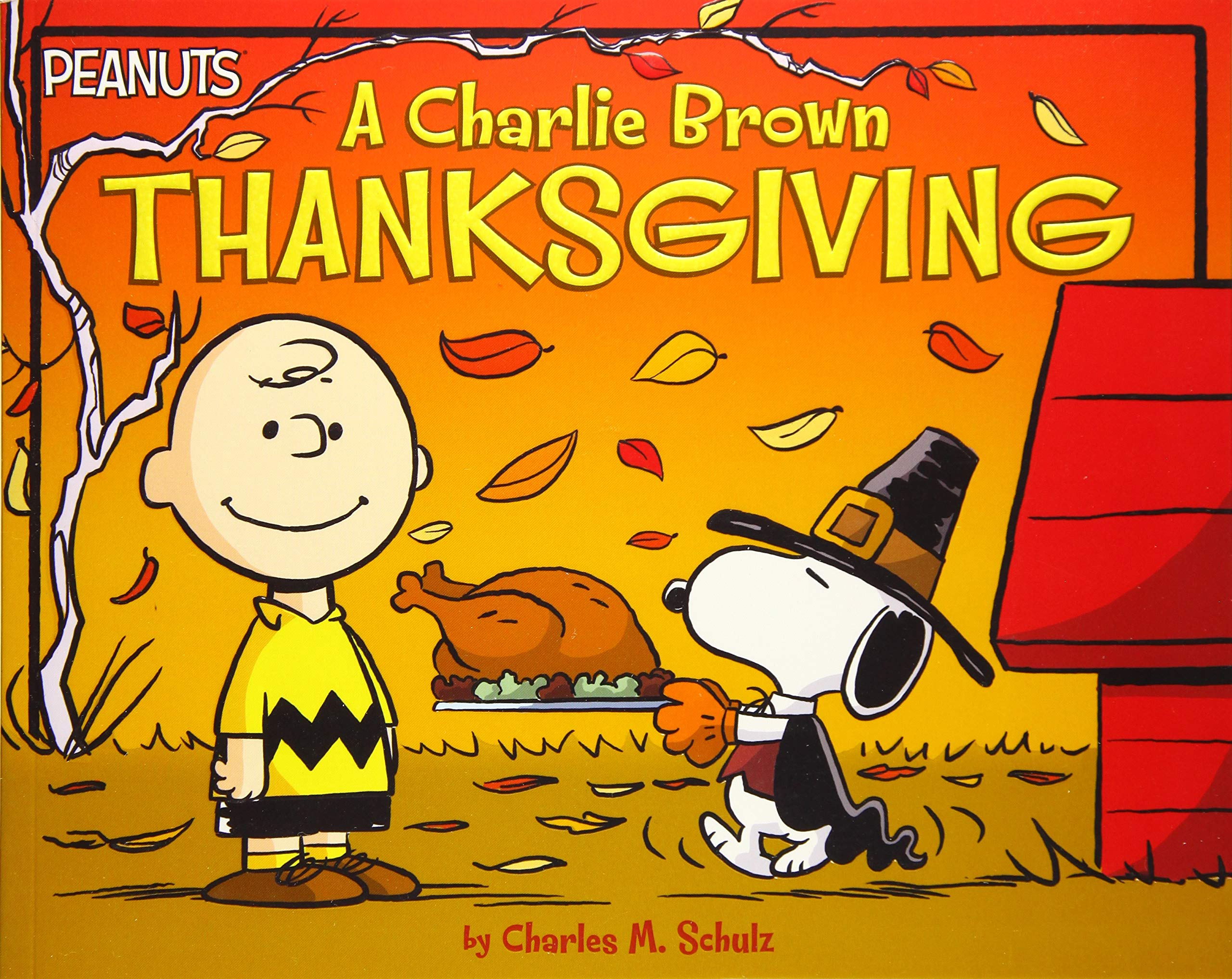 A Picture Book Of A Charlie Brown Thanksgiving
