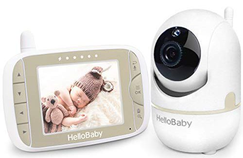 Baby Monitor with Remote Pan Tilt Zoom Camera