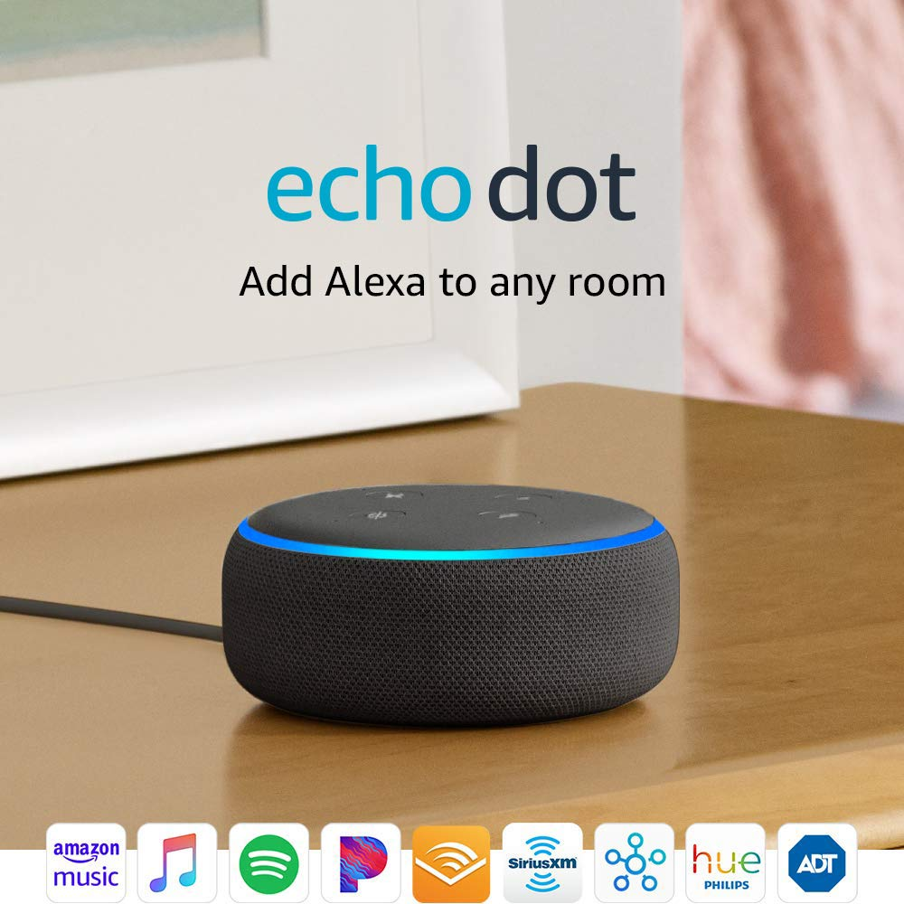 Echo Dot 3rd Generation With Alexa