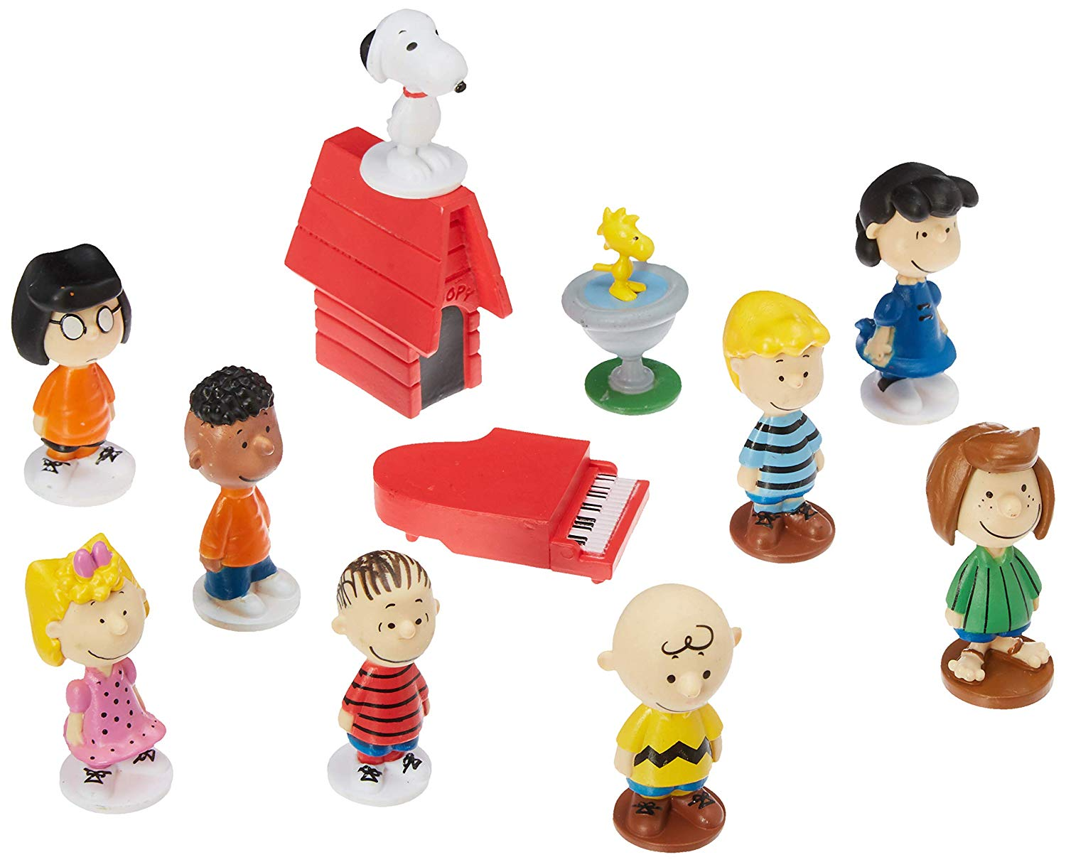 Peanuts Snoopy Figure Toys Set