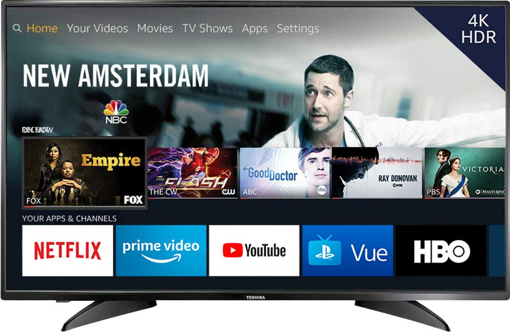 Toshiba 43 inch 4K Ultra HD Smart TV