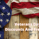 Popular Veterans Day Discounts And Freebies 2019
