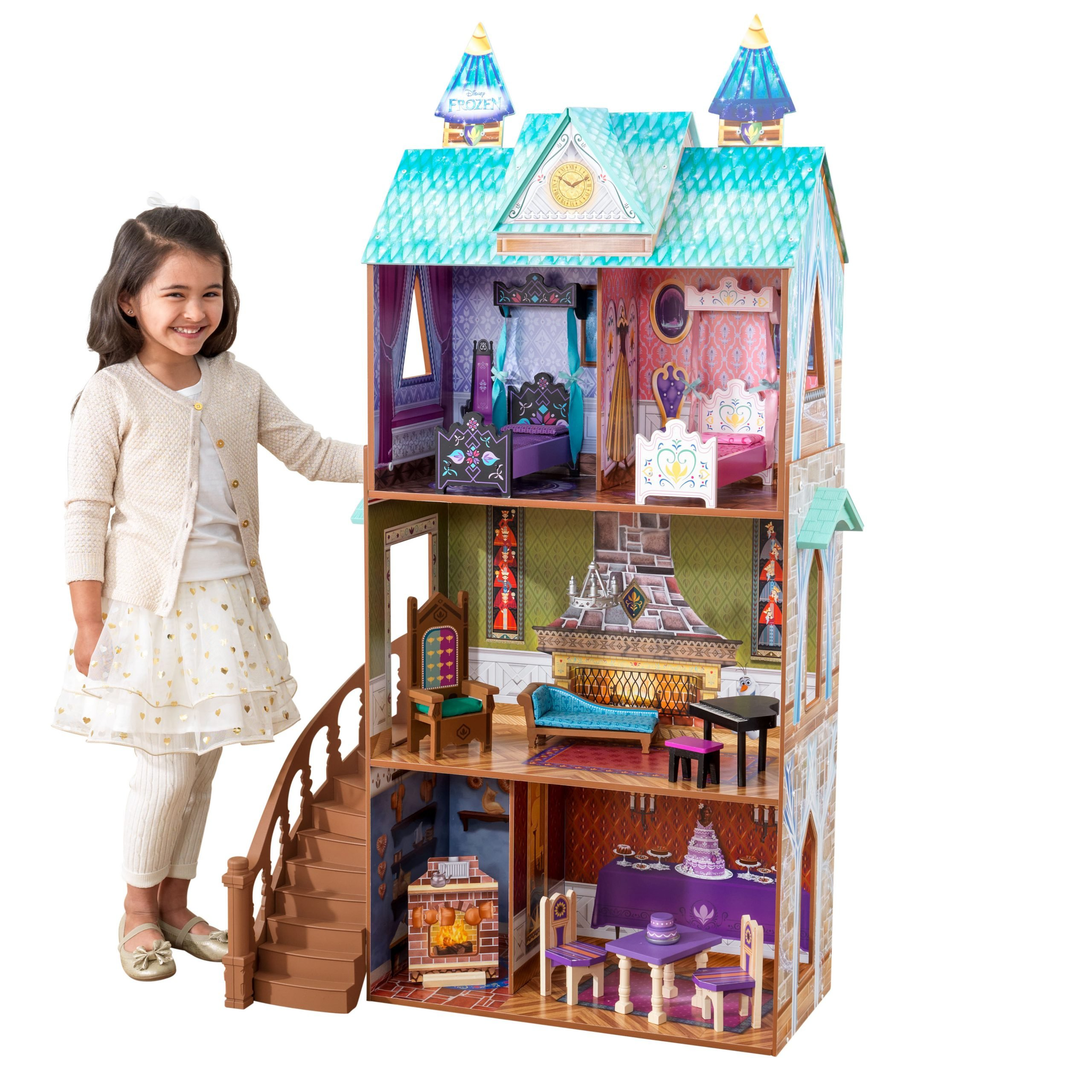 Frozen Arendelle Palace Dollhouse