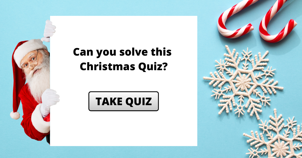 Can you pass this Christmas Quiz