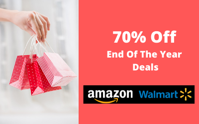70% Off End Of The Year Deals
