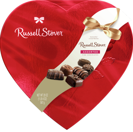 Valentines Chocolates Heart Gift Box