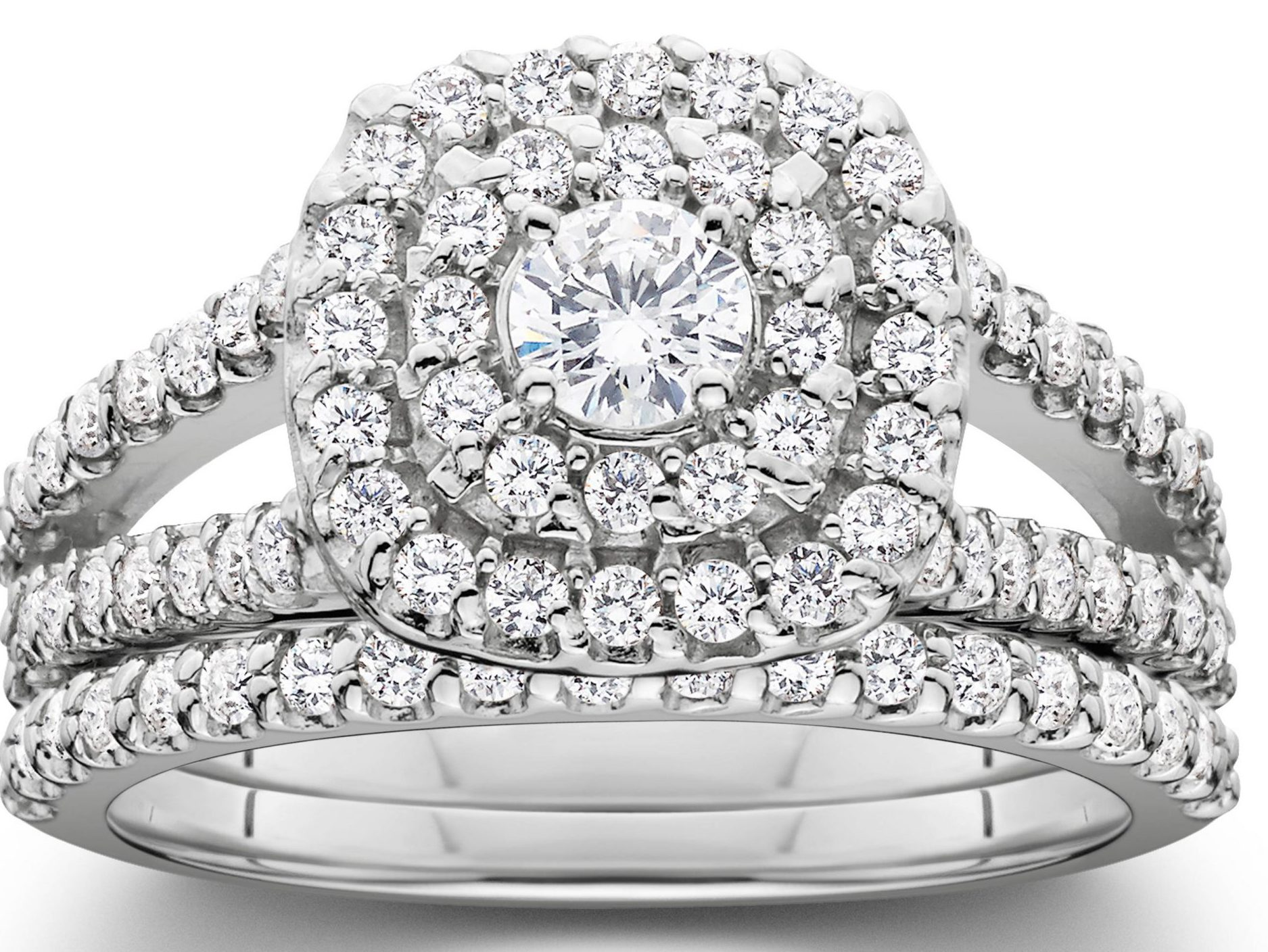 Pompeei Wedding Ring Set