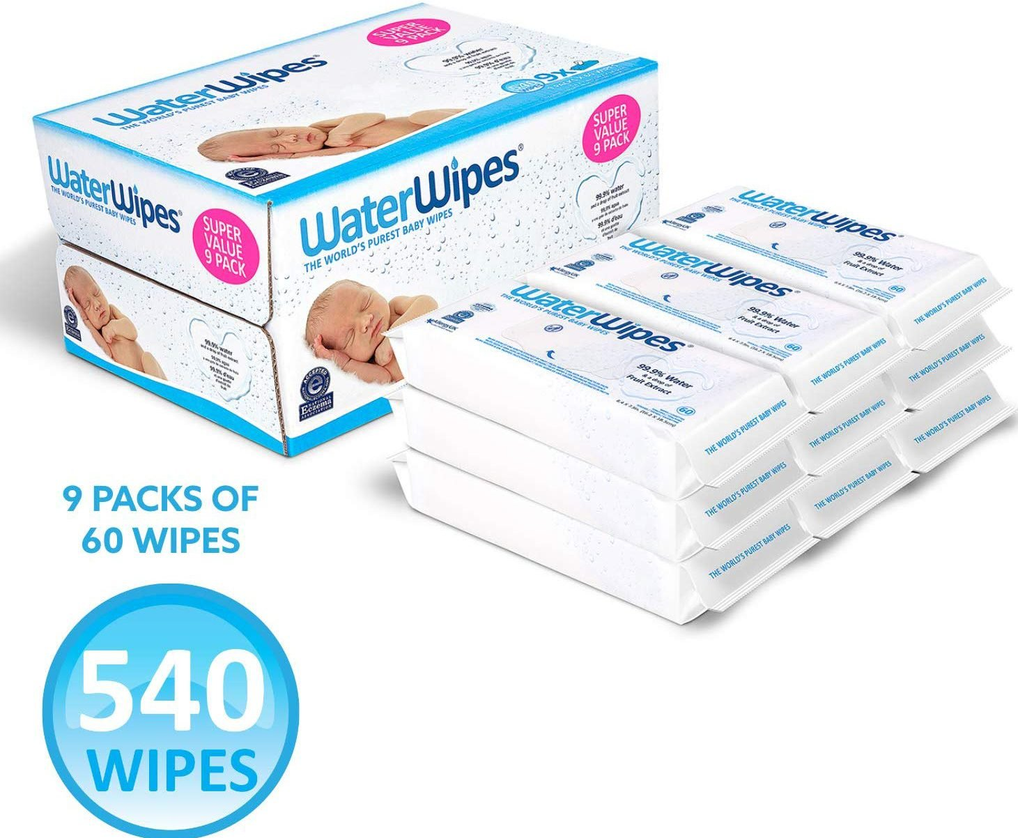 Unscented Baby Wipes