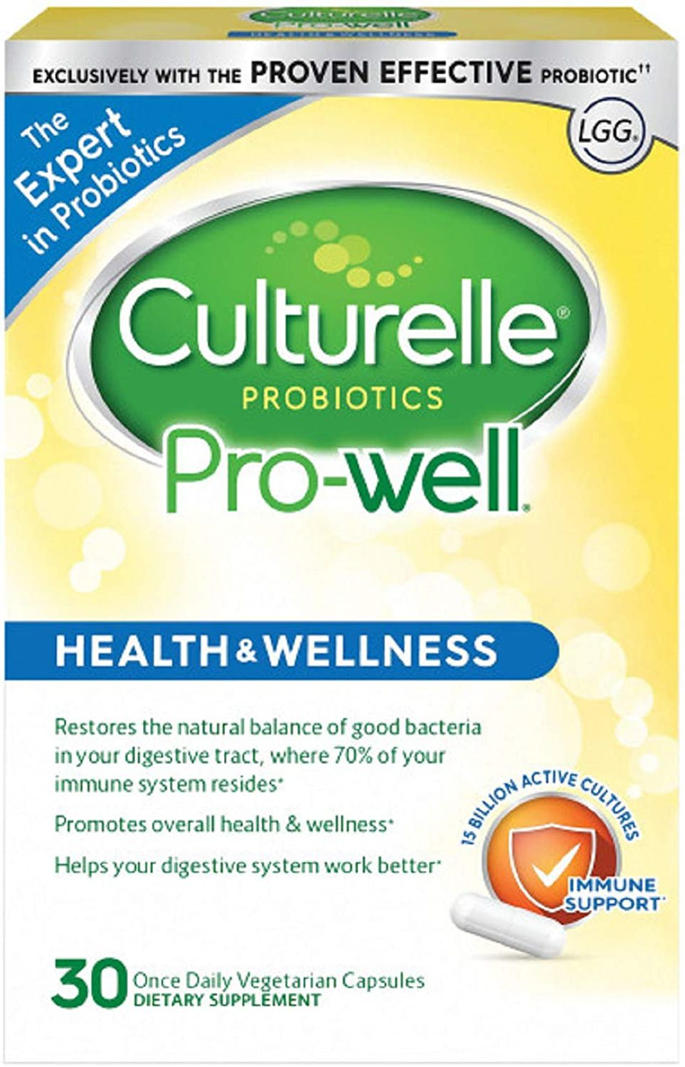 Culturelle Pro Well Daily Probiotic Supplement