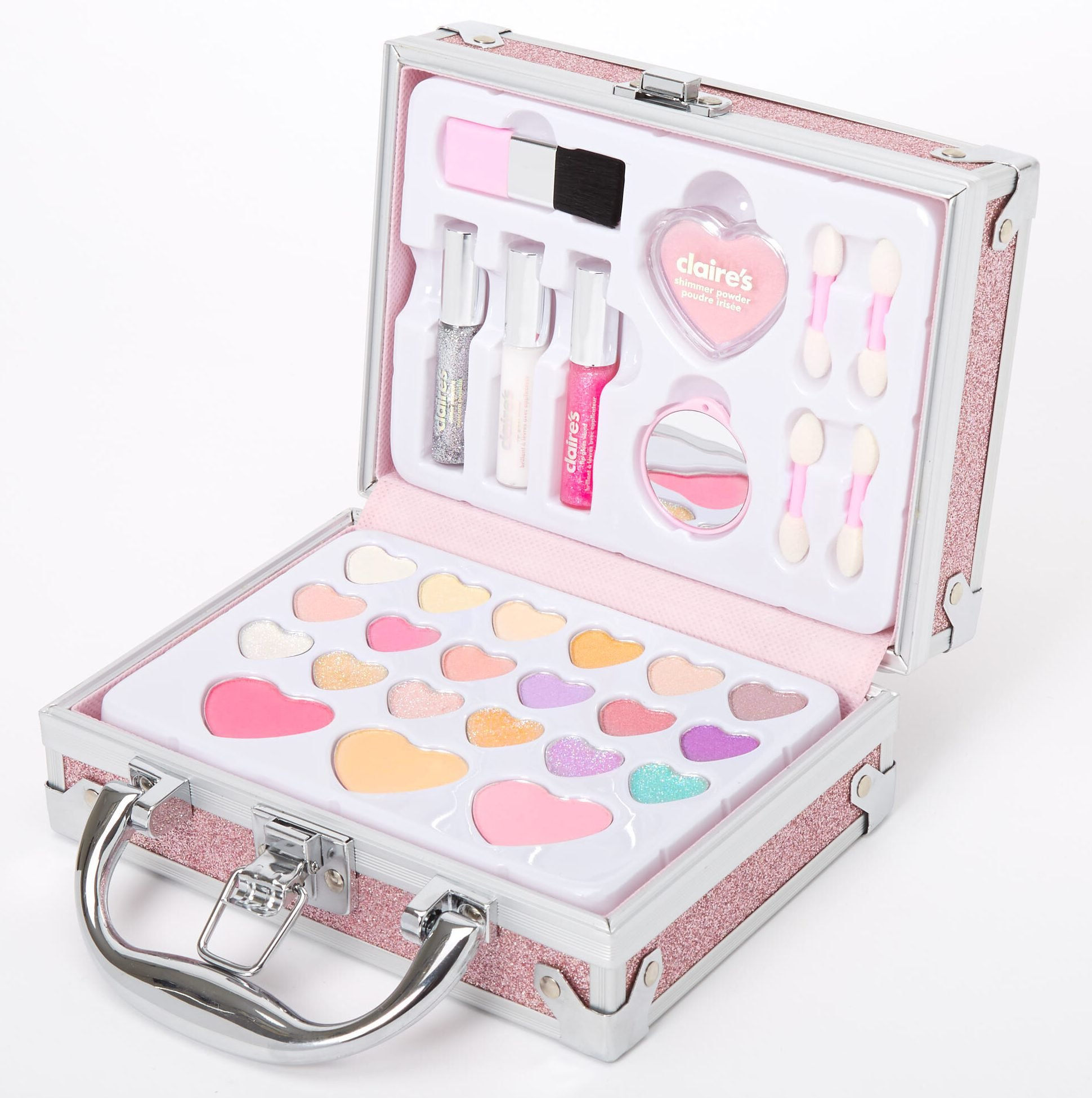 Glitter Travel Case Makeup Set
