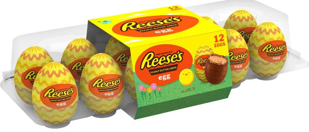 Chocolate and Peanut Butter Crème Eggs candy