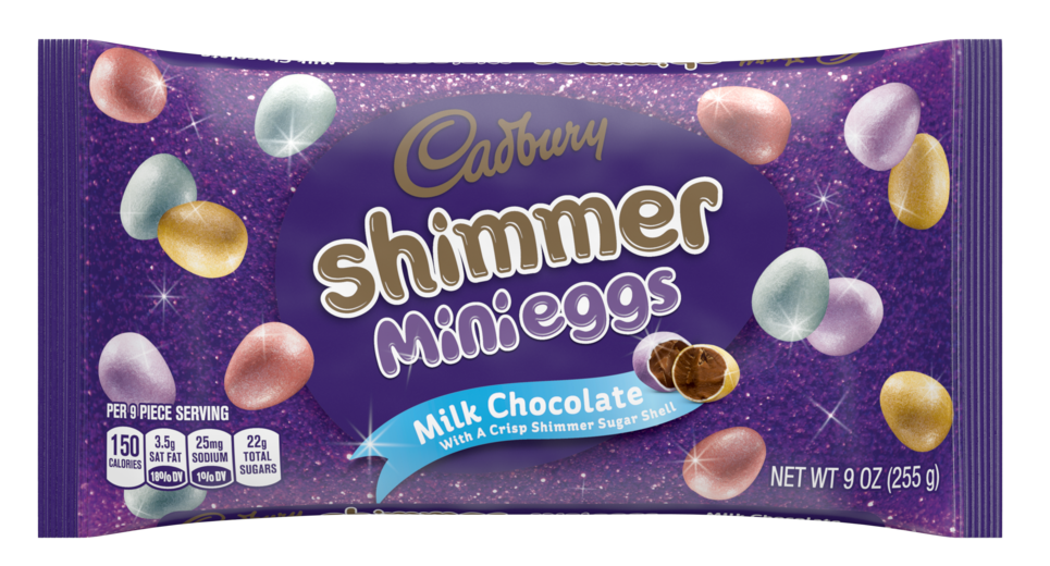 Shimmer Milk Chocolate Mini Eggs Candy