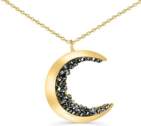 A Crescent Pendant Necklace