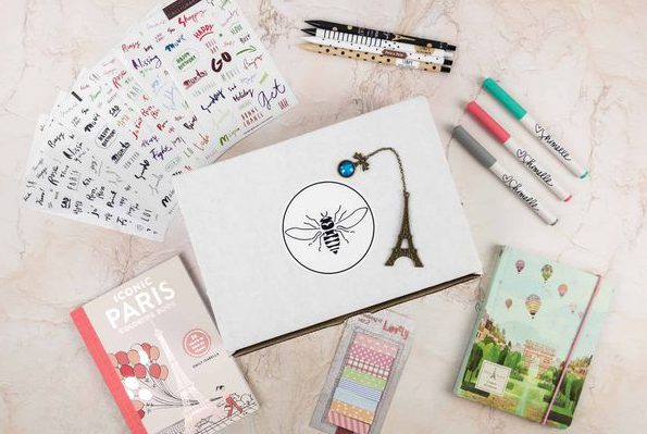 Busy Bee Stationery Box